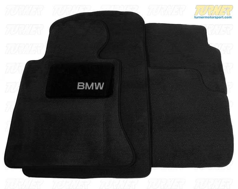 T#24798 - 82110026591 - Genuine BMW Floor Mats - 82110026591 - Genuine BMW -
