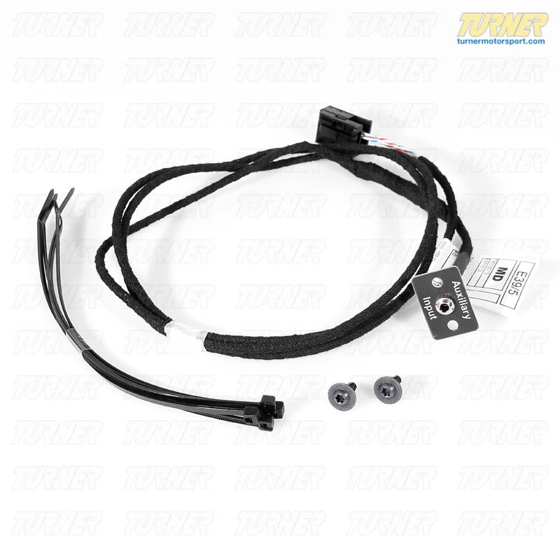 T#11133 - 65120153502-K - Genuine BMW Radio Auxiliary Input Kit - E60 E63 - Genuine BMW - BMW