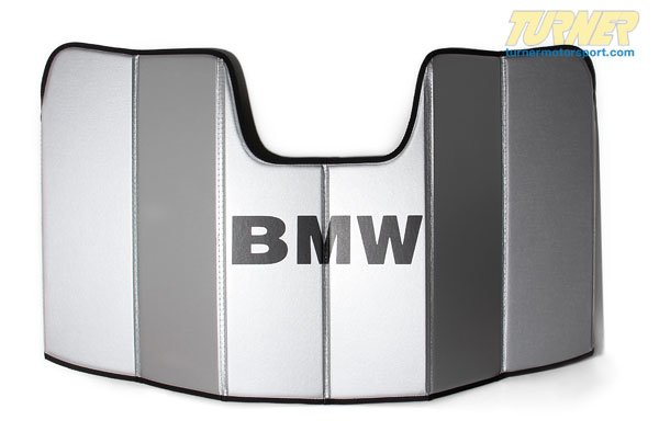 T#14221 - 82110443851 - Genuine BMW Windshield UV Sunshade - E82 E88 - 128i, 135i, 1M Coupe - Genuine BMW - BMW