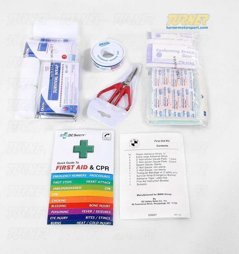 T#11381 - 82111469062 - Genuine BMW First Aid Kit - Genuine BMW -