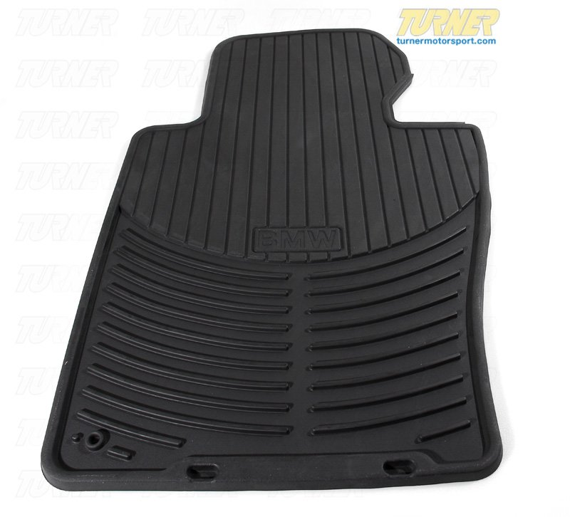 T#14239 - 82550136372 - Genuine BMW Rubber Mats - Front - E46 325XI, 330XI - Genuine BMW -