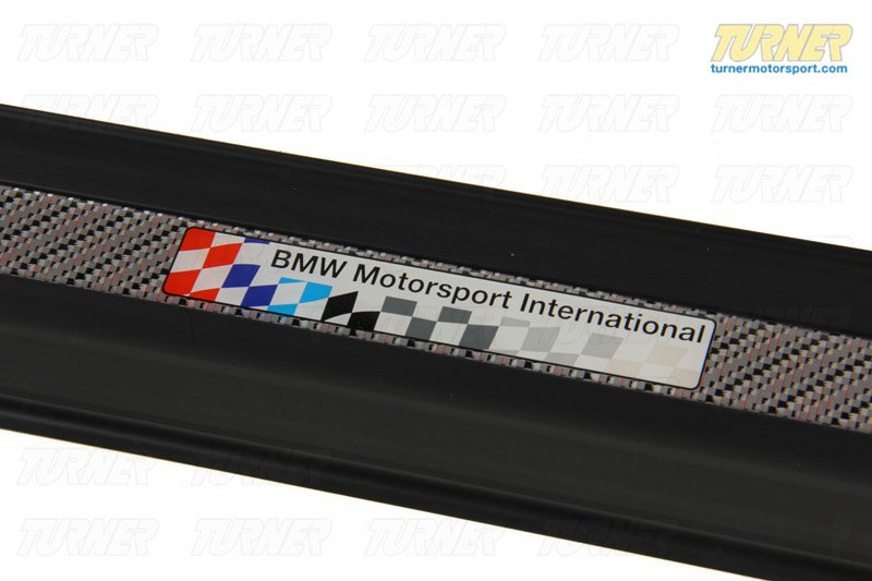 T#110487 - 51472268574x2 - E36 M3 LTW Motorsport International Door Sill Strips (Pair) - Genuine BMW - BMW