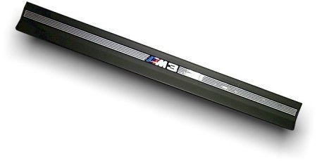 T#172 - 51472252280 - E36 M3 Logo Door Sill Strip - Sold Invividually - Genuine BMW -