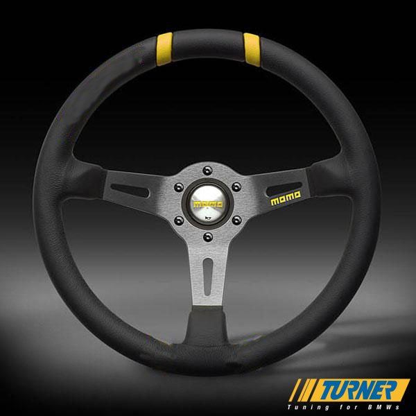 T#1862 - VRDRIFT33BLK - MOMO Mod Drift Steering Wheel - Black - 330mm - MOMO - BMW