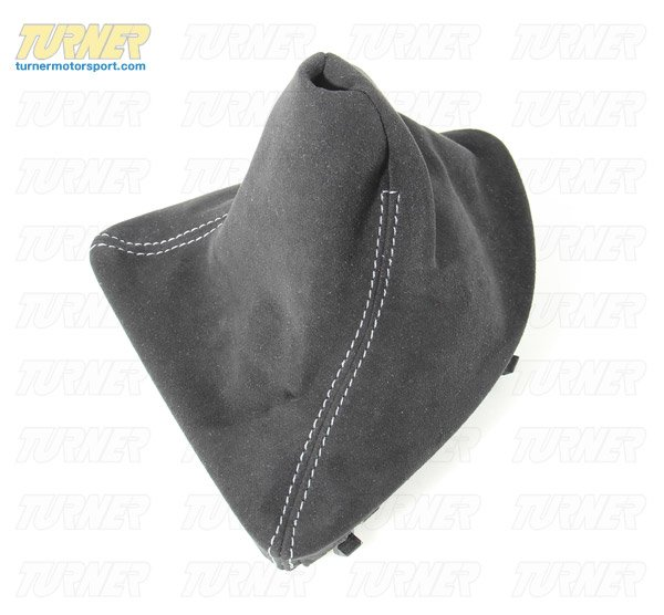T#3492 - 25110435848 - Shift Boot - E82 128i/135i - Manual Transmission - Alcantara - Genuine BMW - BMW