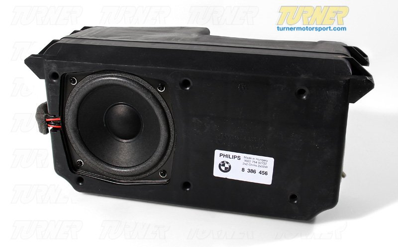 65138386456 - Genuine BMW Subwoofer Box Speaker - Z3 4/99 ...