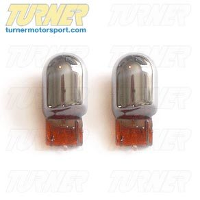 T#1843 - TMS1843 - Stealth Bulb Set - Front Turn Signals / Parking Lights - E46 325ci 330ci 04-06 - E63 all - Turner Motorsport - BMW