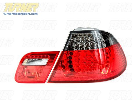 T#5686 - LRL460NSYSMOKE - Smoke Tail Lights (pair) - E46 323ci 325ci 328ci 330ci M3 00-3/03 - Genuine BMW -
