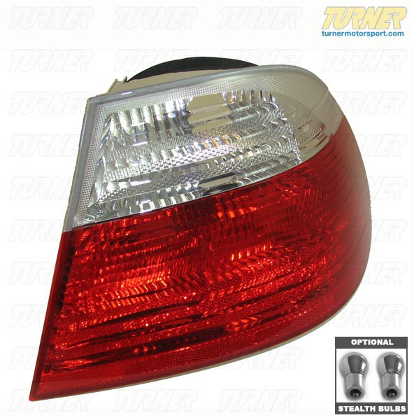 T#339976 - TMS339976 - Rear Taillights (Pair) - Euro Clear - E46 Coupe 2000-2003 - Packaged by Turner - BMW