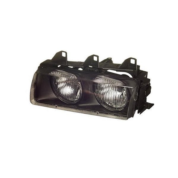 T#4676 - 63121468865 - Headlight Assembly - Left - E36 318i 325i 328i M3 - TYC - BMW