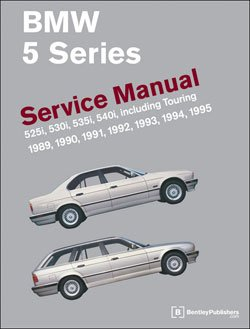 T#4149 - B595 - Bentley Service & Repair Manual - E34 BMW 5 Series (1989-1995) - Bentley - BMW