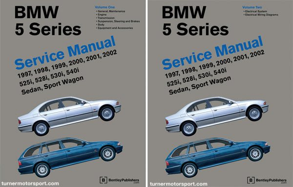 T#364029 - B503 - Bentley Service & Repair Manual - E39 BMW 5 Series (1997-2003) - Bentley - BMW
