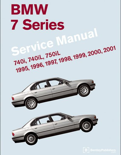 T#4050 - B701 - Bentley Service & Repair Manual - E38 BMW 7 Series (1995-2001) - Bentley - BMW