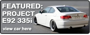 As Used on Project E92 335i