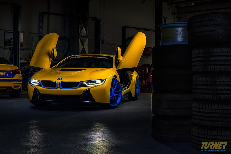 Bmw I8 Project Car Turner Motorsport