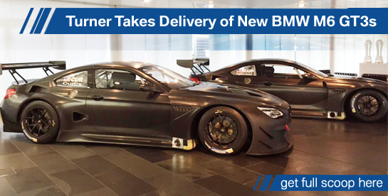 Turner BMW M6 GT3s Unveiled