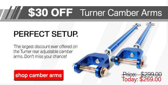 Turner Camber Arms