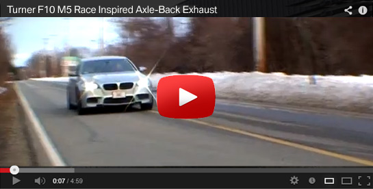 New BMW Exhaust Products