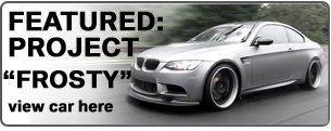 As used on our Frozen Grey E92 M3
