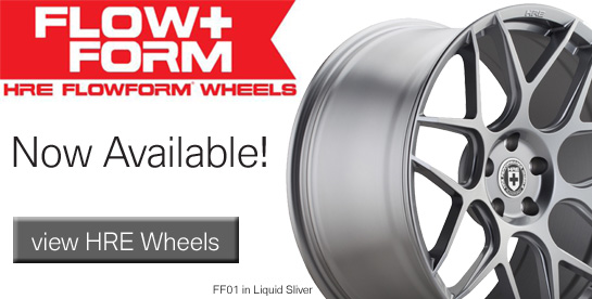 HRE Flow Formed Wheels for BMW