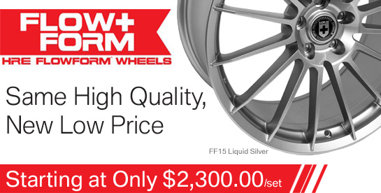 HRE Flowform Wheels
