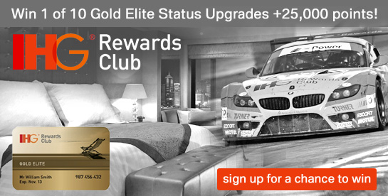IHG Rewards Club Contest