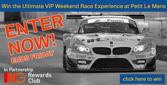 IHG Rewards Club PLM Race Experience