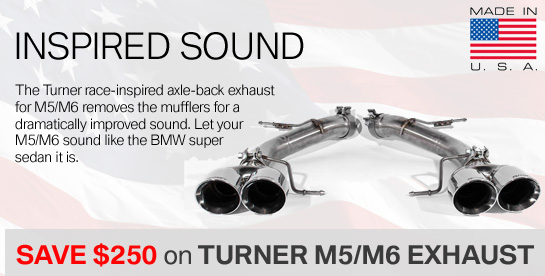 Turner Exhausts on Sale