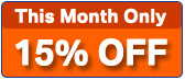 Save 15% off Brake Rotors for October