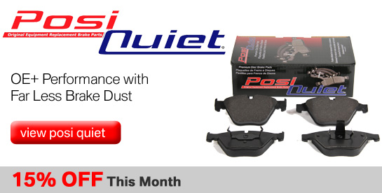 Posi Quiet Brake Pads on Sale