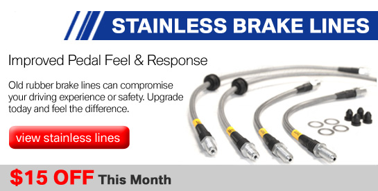 Stainless Brake Lines on Sale