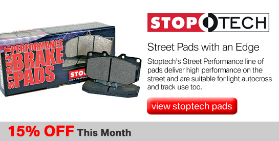 Stoptech Street Performance on Sale
