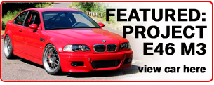 As Used on our Project E46 M3
