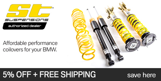 ST Suspensions for BMW