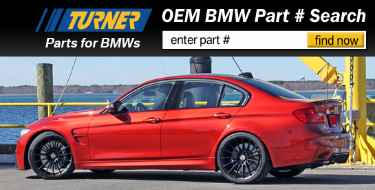 Turner BMW OEM Parts Sale