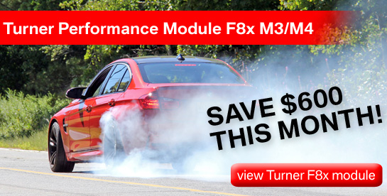 Turner F8x Performance Modules on Sale