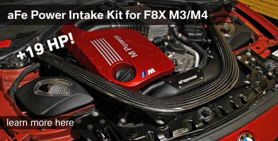 aFe Intake Kit for F8X M3/M4