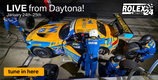 LIVE Stream from Daytona