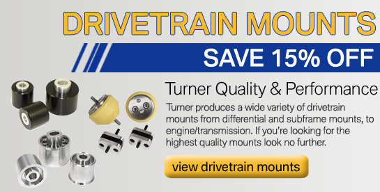 Turner Drivetrain Bushings on Sale