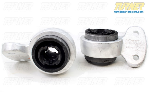 T#1870 - 31126757623MY - Front Control Arm Bushings (FCAB) - Meyle HD Rubber - E46, Z4 (not M Models) (Pair) - Meyle HD - BMW