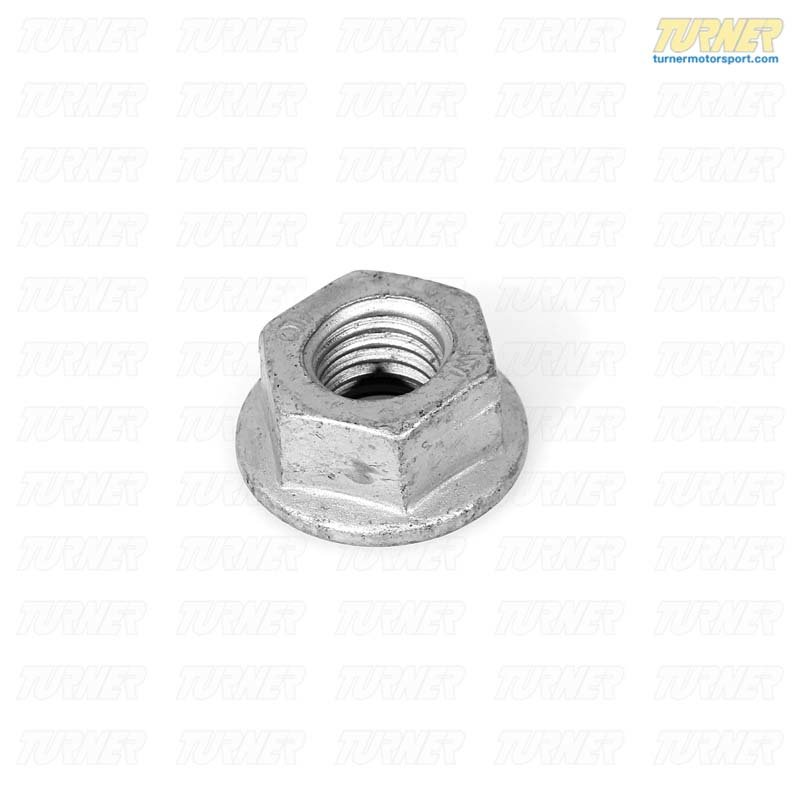 T#7946 - 33306760587 - Genuine BMW Rear Axle Hex Nut With Flange 33306760587 - Genuine BMW -