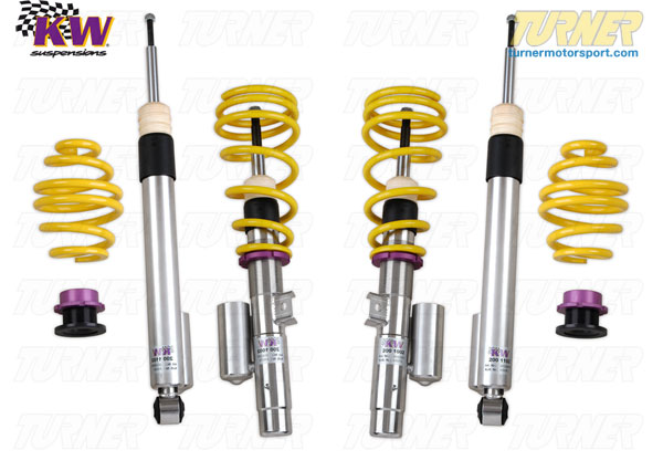 T#11635 - 35220023 - E46 M3 KW Coilover Kit - Variant 3 (V3) - KW Suspension - BMW