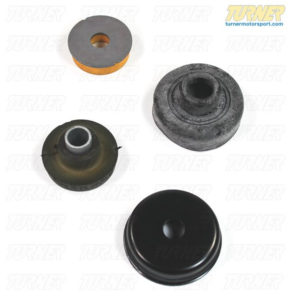 T#11955 - TMS11955 - Rear Shock Mounts (RSM) - Upper - OEM Rubber - E90 M3, E92 M3, E93 M3 (with EDC) (Pair) - Genuine BMW - BMW