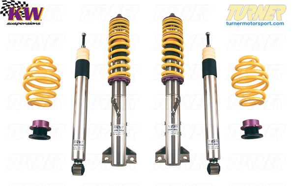 T#11550 - 10220011 - E36 318i/323i/325i/328i KW Coilover Kit - Variant 1 (V1) - KW Suspension -