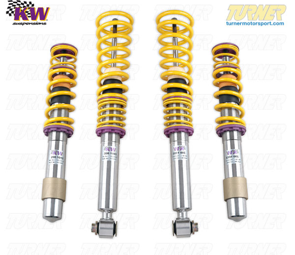 T#11583 - 15220005 - E60 525i/528i/530i/535i/545i/550i KW Coilover Kit - Variant 2 (V2) - KW Suspension -