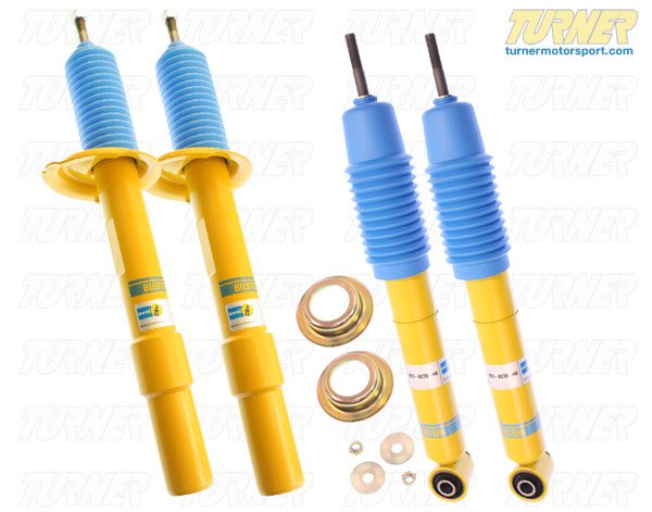 T#5816 - E63HDSET - E63 Bilstein HD Shocks - E63 645ci 650i (Set of 4) - Bilstein - BMW