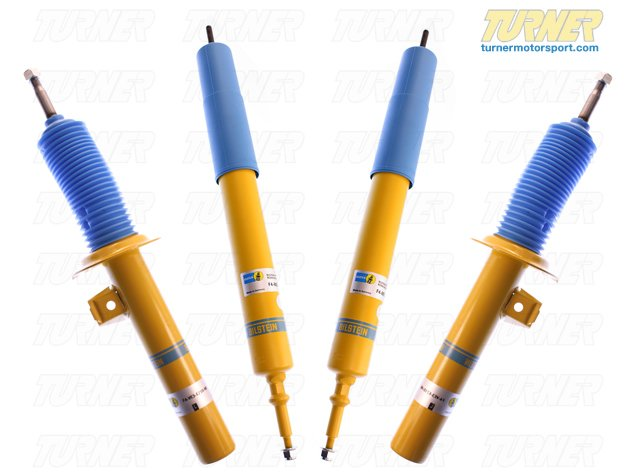 T#3851 - E90HDSET - E90/E92/E93 Bilstein HD Shocks - E90/E92 325i 328i 330i 335i (Set of 4) - Bilstein - BMW