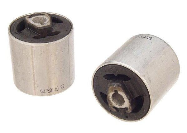T#12698 - 31120006482 - Front Upper Control Arm Bushing Set (FCAB) - OEM Rubber - E39 540i/M5, E38 (Pair) - Lemforder - BMW