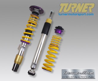 T#11680 - 35220813 - E36 318ti/Compact KW Coilover Kit - Clubsport - KW Suspension -