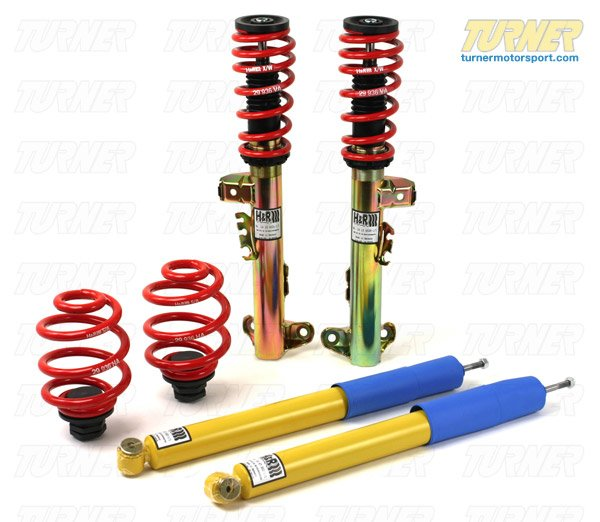 T#3616 - 29936-1 - E36 M3 1995-99 H&R Coil Over Suspension - H&R - BMW